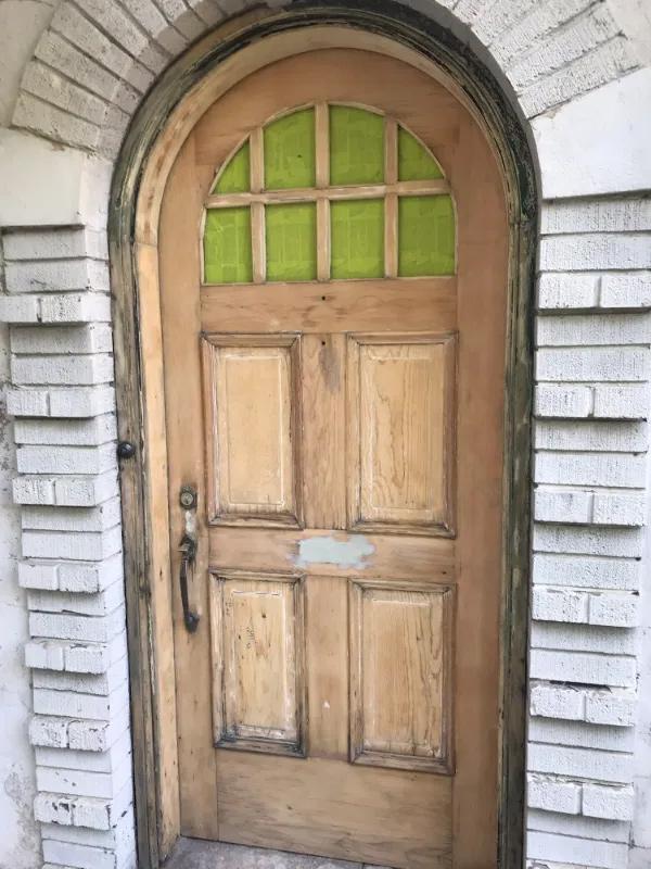 atrestauruotos durys